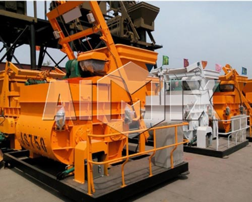 forced action concrete mixer