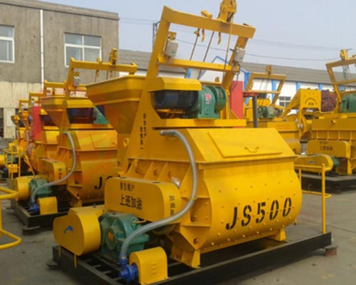 small concrete mixers