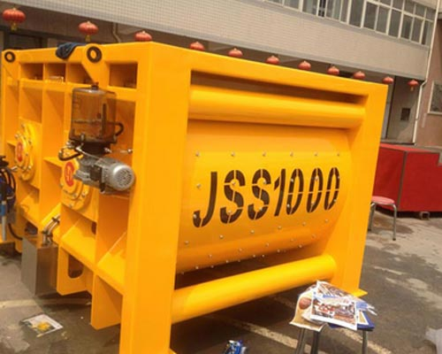stationary concrete mixer company