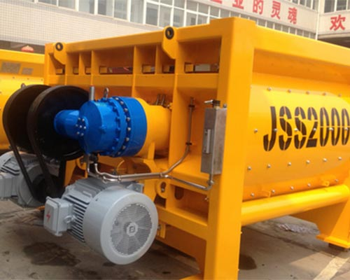 stationary concrete mixer supplier