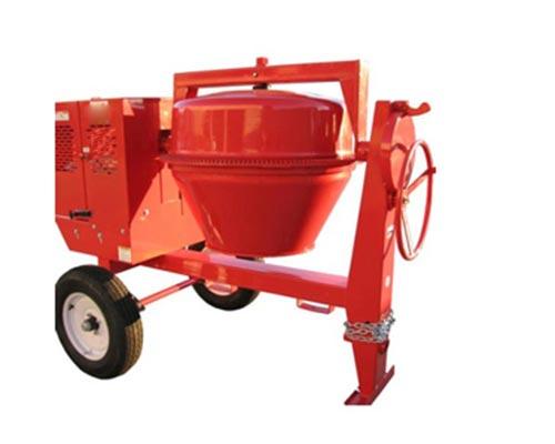 manual concrete mixer