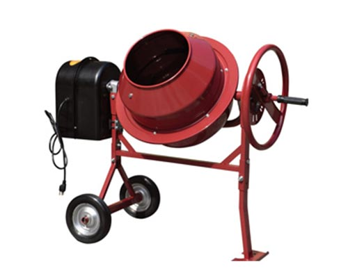 hand powered cement mixer