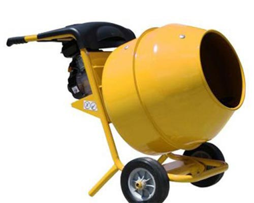 hand held concrete mixer