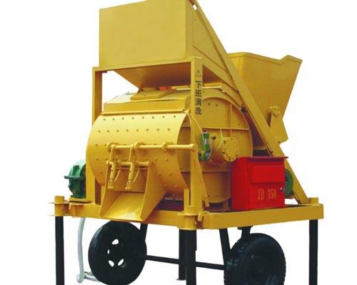 horizontal concrete mixer