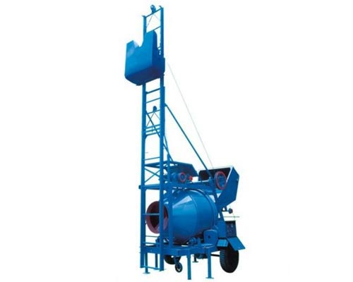 hydraulic mixer machine