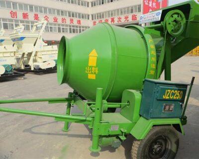 concrete mobile mixer