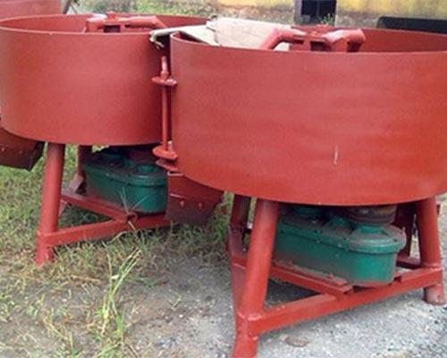 pan concrete mixers