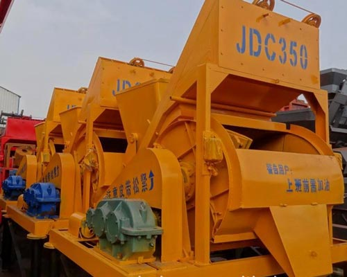 Single Shaft Concrete Mixer for Sale
