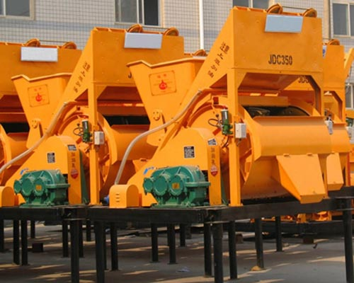 single shaft concrete mixer