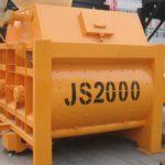 Twin Shaft Concrete Mixer