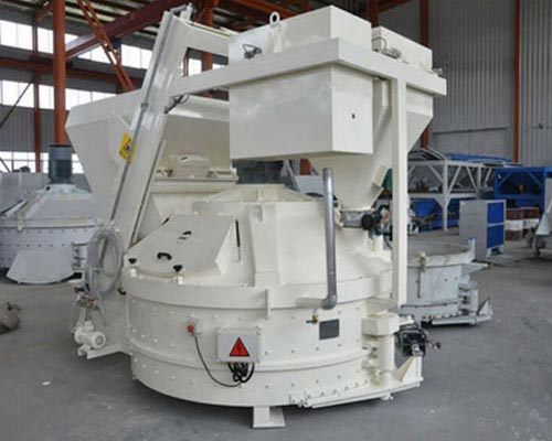 vertical-shaft concrete mixer