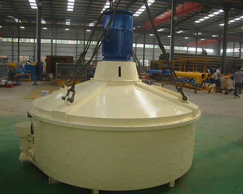 vertical-shaft mixer