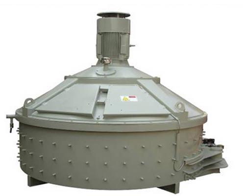 vertical concrete mixer
