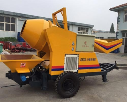 concrete pump mixer price
