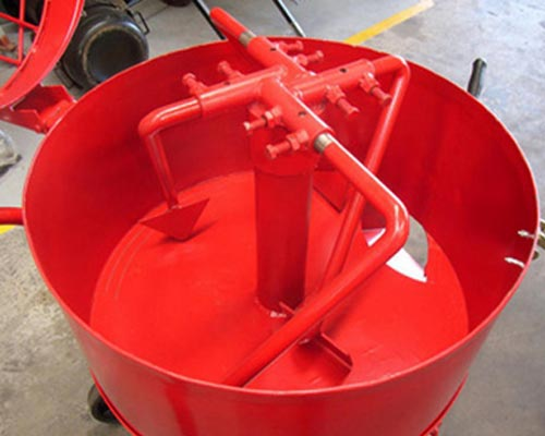 vertical concrete mixer