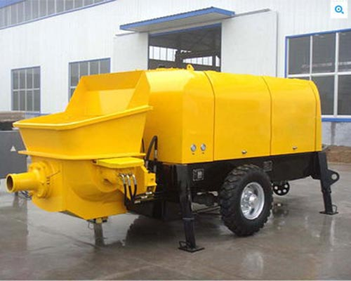 The Basics You Need Know About Trailer Mounted Concrete Pump