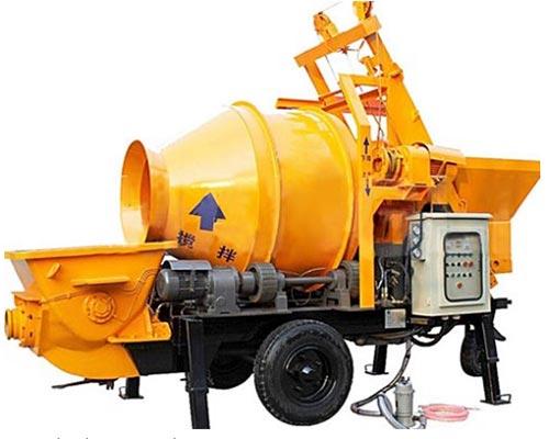 electric concrete mixer pump