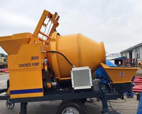 concrete mixer and pump supplier