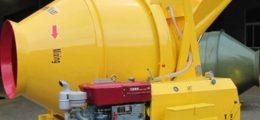 diesel cement mixer