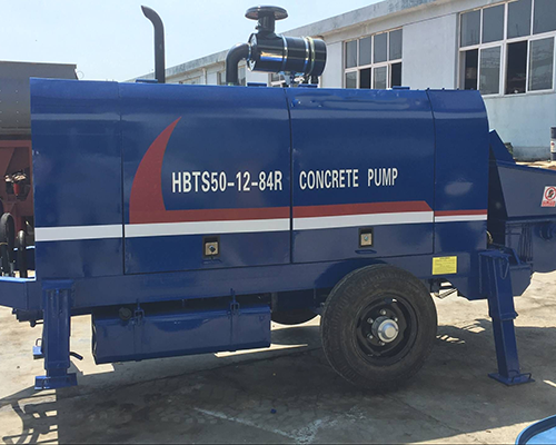 Aimix Diesel Concrete Pump Was Exported To Indonesia