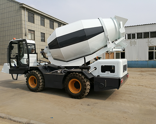 self-loading mixer