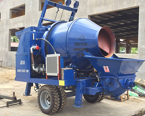 concrete pumping equipment