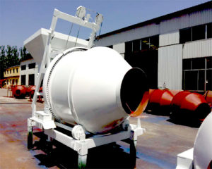 mini type concrete mixer