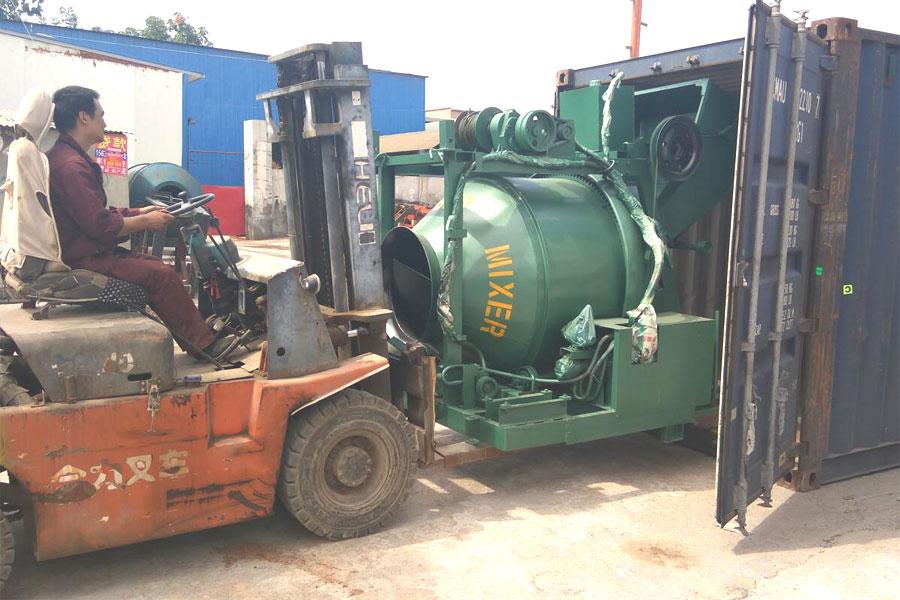hot sale diesel cement mixer